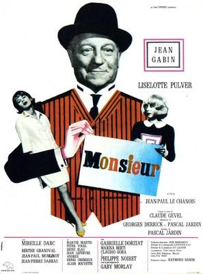 Monsieur - French Movie Poster (thumbnail)