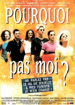 Pourquoi pas moi? - French Movie Poster (thumbnail)
