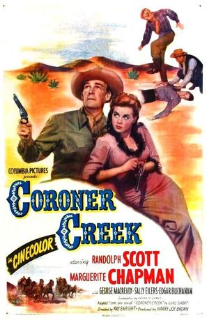Coroner Creek - Movie Poster (thumbnail)
