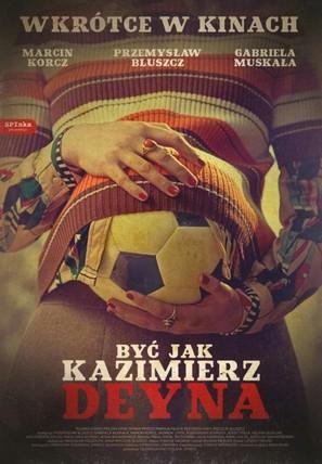 Byc jak Kazimierz Deyna - Polish Movie Poster (thumbnail)