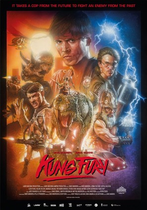 Kung Fury - Swedish Movie Poster (thumbnail)