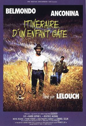 Itinéraire d'un enfant gâté - French Movie Poster (thumbnail)