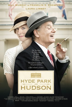 Hyde Park on Hudson - Movie Poster (thumbnail)