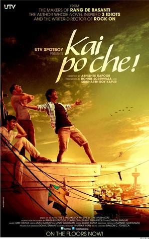 Kai Po Che - Indian Movie Poster (thumbnail)