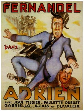 Adrien - French Movie Poster (thumbnail)