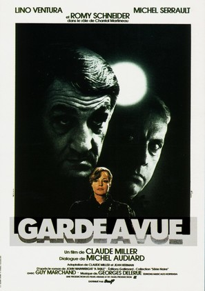 Garde à vue - French Movie Poster (thumbnail)