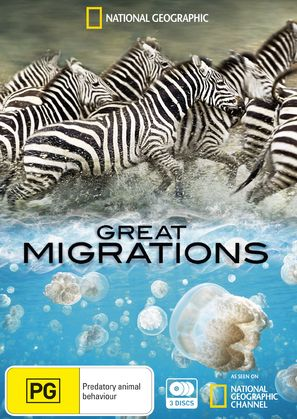 """Great Migrations"" - Australian DVD movie cover (thumbnail)"