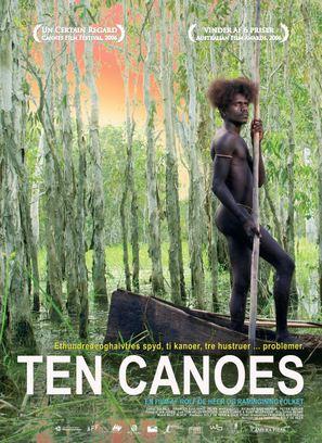 Ten Canoes - Danish Movie Poster (thumbnail)