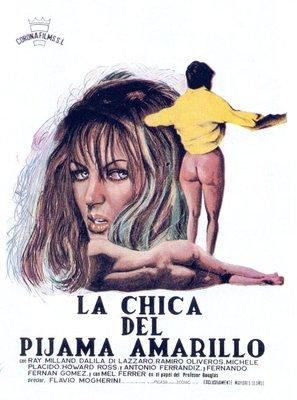 La ragazza dal pigiama giallo - Spanish Movie Poster (thumbnail)