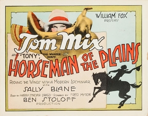 A Horseman of the Plains - Movie Poster (thumbnail)