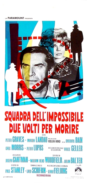 Mission Impossible Versus the Mob - Italian Movie Poster (thumbnail)