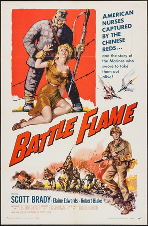 Battle Flame - Movie Poster (thumbnail)