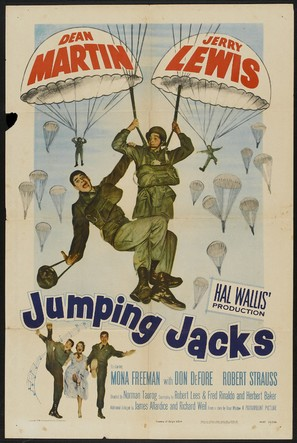Jumping Jacks - Movie Poster (thumbnail)