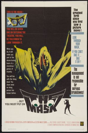The Mask - Theatrical poster (thumbnail)