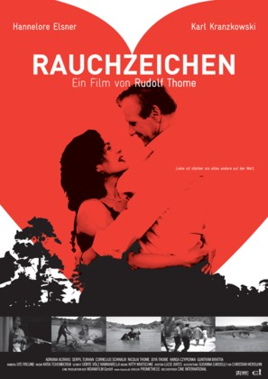 Rauchzeichen - German Movie Poster (thumbnail)