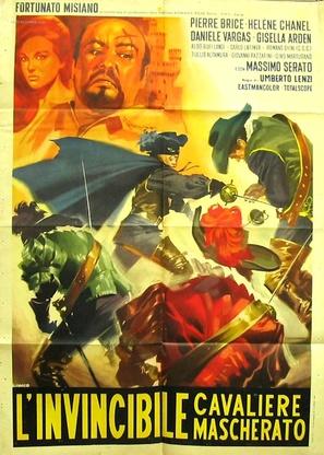 L'invincibile cavaliere mascherato - Italian Movie Poster (thumbnail)