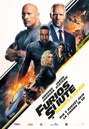 Fast & Furious Presents: Hobbs & Shaw - Romanian Movie Poster (thumbnail)