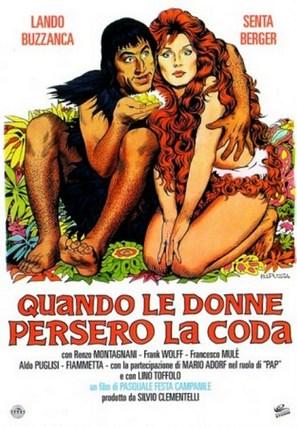 Quando le donne persero la coda - Italian Movie Poster (thumbnail)