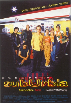 SubUrbia - German Movie Poster (thumbnail)