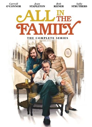 """""""All in the Family"""" - DVD movie cover (thumbnail)"""