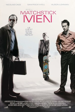 Matchstick Men - Movie Poster (thumbnail)