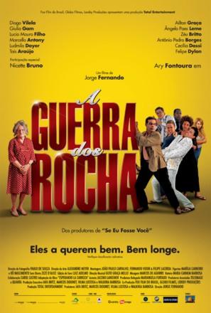 A Guerra dos Rocha - Brazilian Movie Poster (thumbnail)