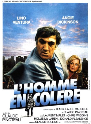 L'homme en colère - French Movie Poster (thumbnail)