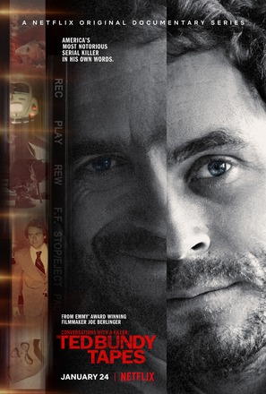 """""""Conversations with a Killer: The Ted Bundy Tapes"""" - Movie Poster (thumbnail)"""