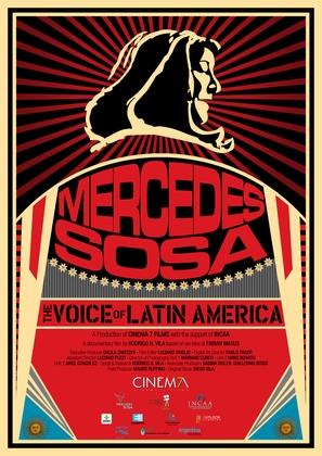 Mercedes Sosa: La voz de Latinoamérica - Argentinian Movie Poster (thumbnail)