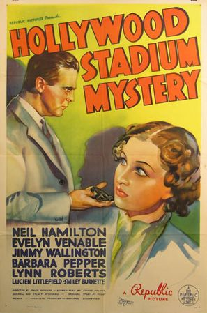 Hollywood Stadium Mystery - Movie Poster (thumbnail)