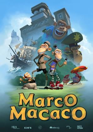 Marco Macaco - Danish Movie Poster (thumbnail)