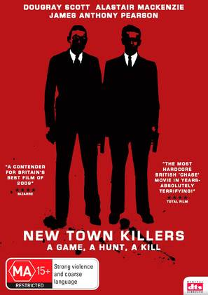 New Town Killers - Australian Movie Cover (thumbnail)
