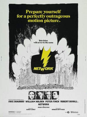 Network - Movie Poster (thumbnail)