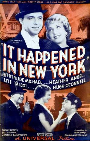 It Happened in New York - Movie Poster (thumbnail)