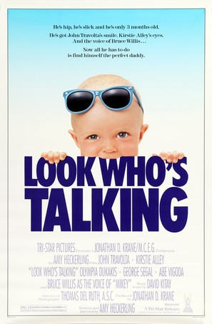 Look Who's Talking - Movie Poster (thumbnail)