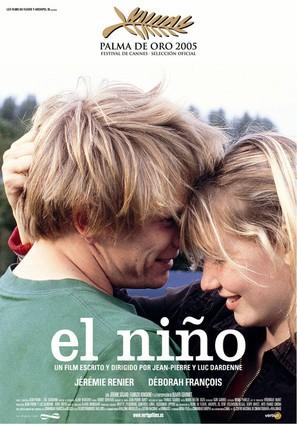 El niño - Spanish Movie Poster (thumbnail)