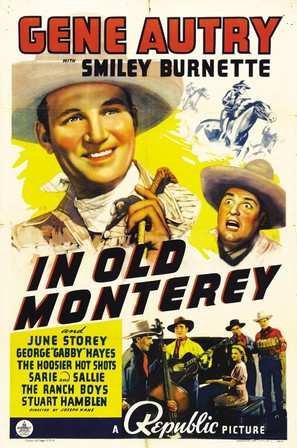 In Old Monterey - Movie Poster (thumbnail)