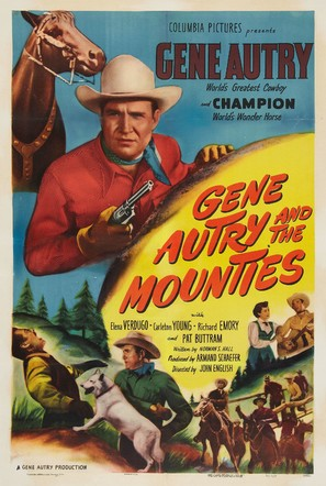 Gene Autry and The Mounties - Movie Poster (thumbnail)