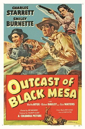 Outcasts of Black Mesa - Movie Poster (thumbnail)