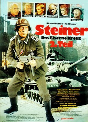Steiner - Das eiserne Kreuz, 2. Teil - German Movie Poster (thumbnail)