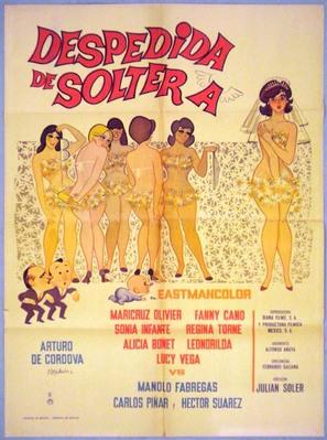 Despedida de soltera - Argentinian Movie Poster (thumbnail)