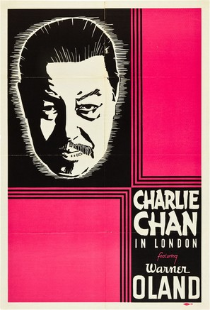 Charlie Chan in London - Movie Poster (thumbnail)