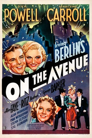 On the Avenue - Movie Poster (thumbnail)