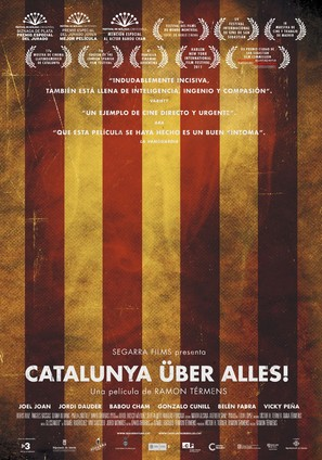 Catalunya über alles! - Spanish Movie Poster (thumbnail)