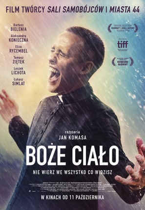 Boze Cialo - Polish Movie Poster (thumbnail)