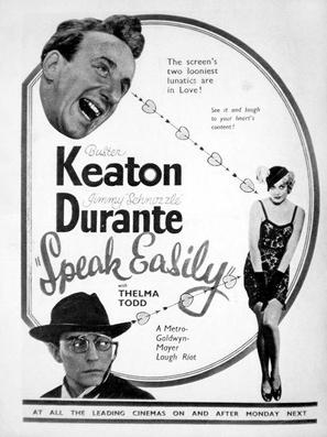 Speak Easily - Movie Poster (thumbnail)