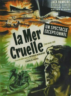 The Cruel Sea - French Movie Poster (thumbnail)