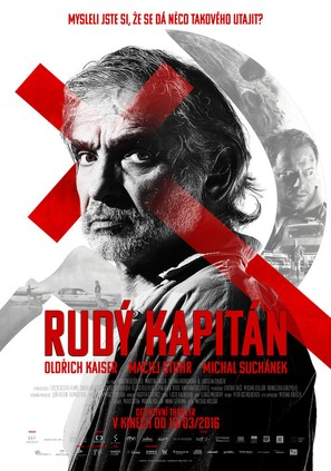 Rudý kapitán - Czech Movie Poster (thumbnail)