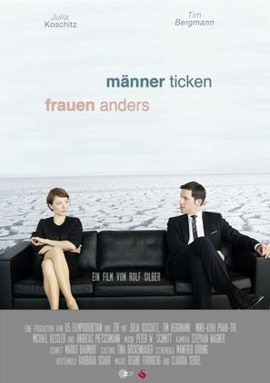 Männer ticken, Frauen anders - German Movie Poster (thumbnail)