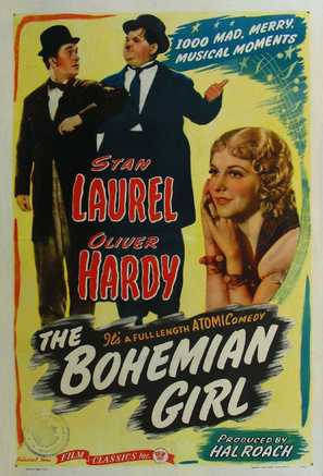 The Bohemian Girl - Movie Poster (thumbnail)